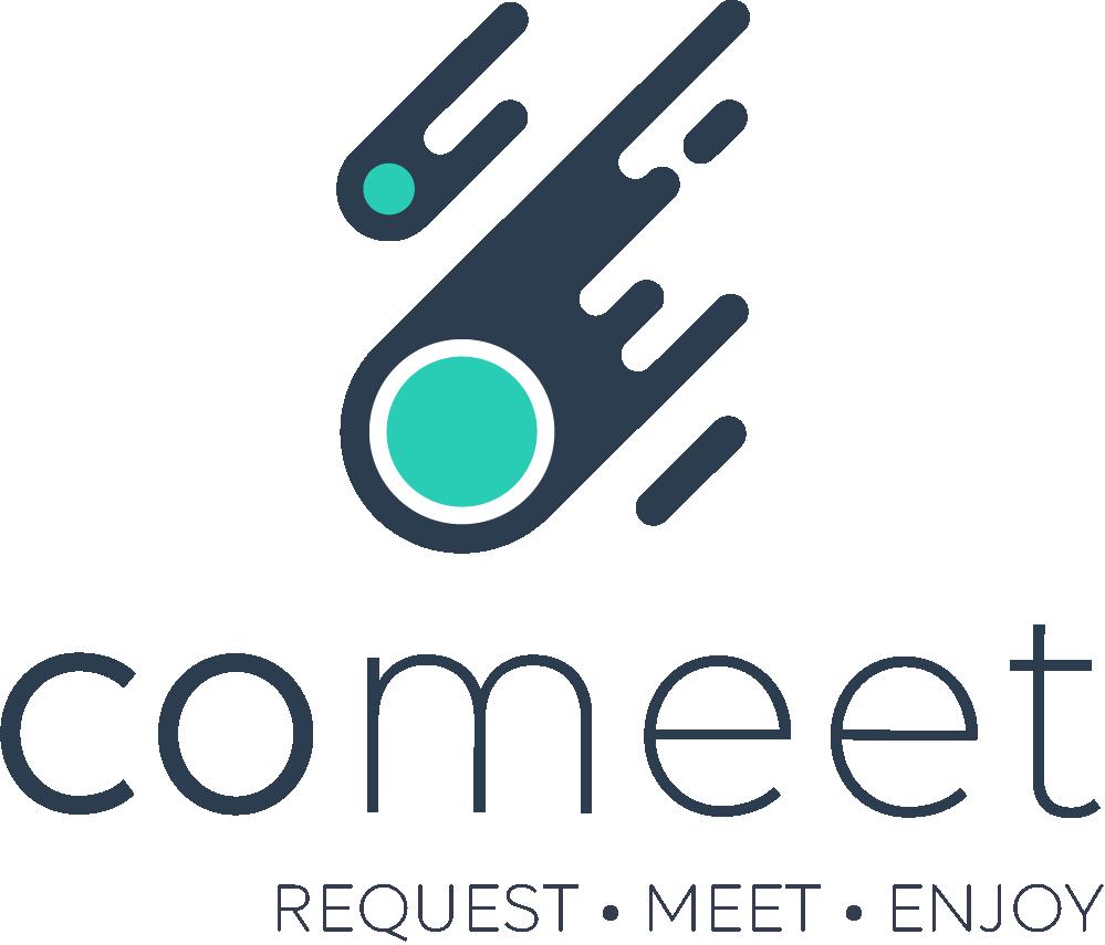 Logo Comeet with baseline 2