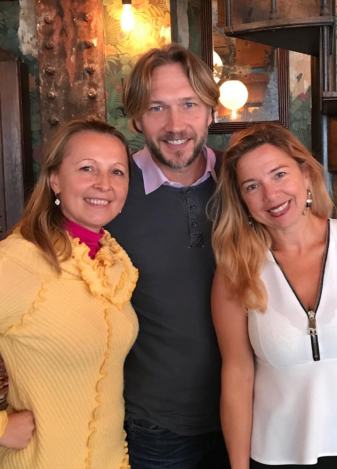 Angelika, Alexandra, Arnaud