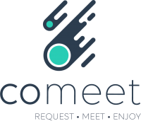 Logo Comeet with baseline 2